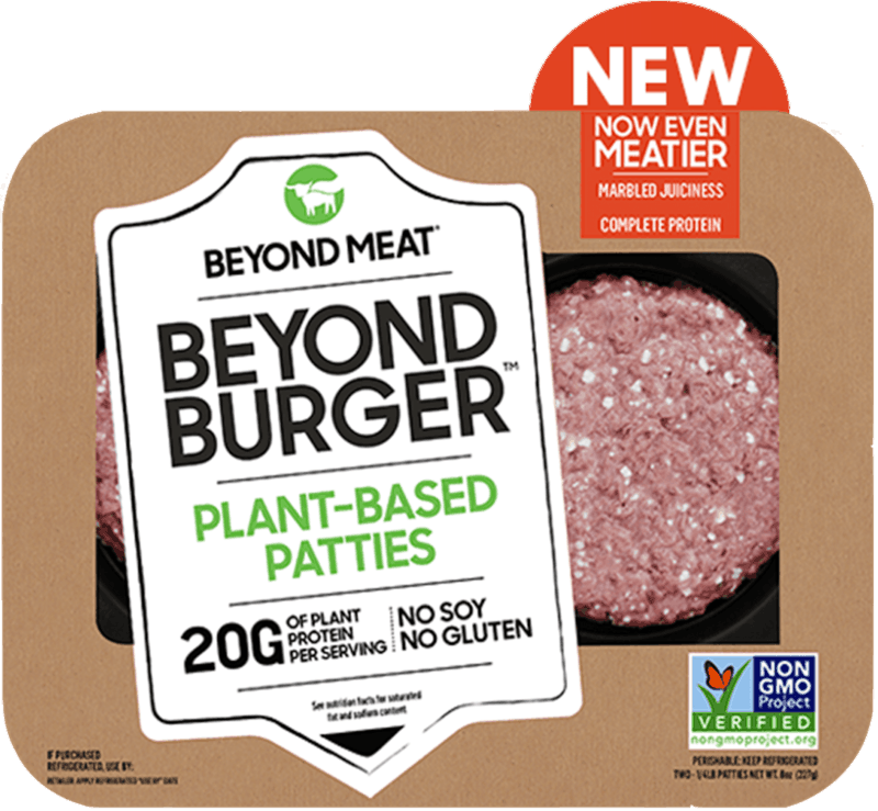 $1.00 for Beyond Burger from Beyond Meat. Offer available at multiple stores.