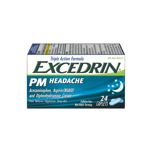 $1.50 for Excedrin PM Headache (expiring on Saturday, 04/07/2018). Offer available at Walmart.