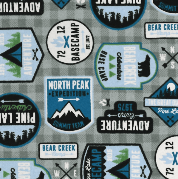$0.50 for Adventure Patches Fabric (expiring on Tuesday, 04/02/2019). Offer available at JOANN .