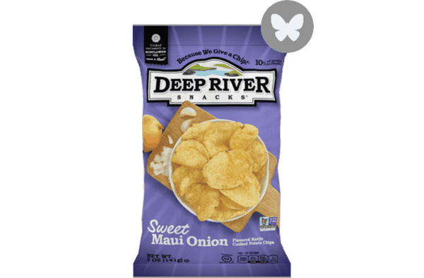 $0.50 for Deep River Snacks® Kettle Chips (expiring on Friday, 04/13/2018). Offer available at multiple stores.
