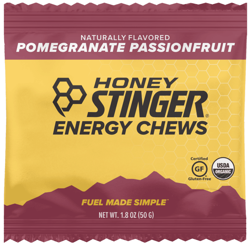 $0.50 for Honey Stinger Energy Chews (expiring on Wednesday, 01/01/2020). Offer available at multiple stores.