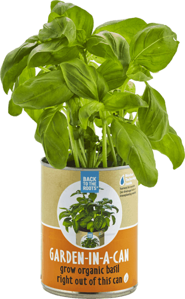 $1.50 for Back to the Roots® Garden-in-a-Can (expiring on Sunday, 04/01/2018). Offer available at multiple stores.