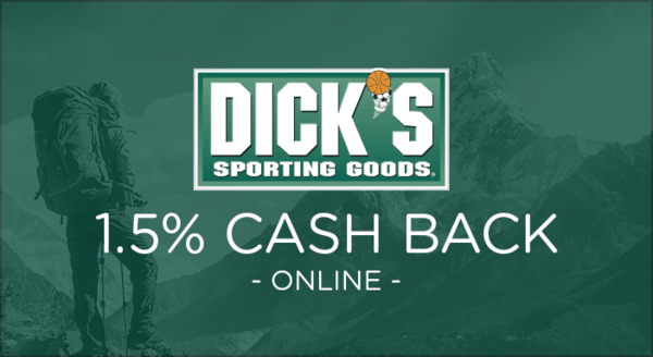 $0.00 for Dick's Sporting Goods (expiring on Tuesday, 03/31/2020). Offer available at DicksSportingGoods.com.
