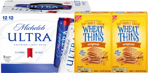 $1.00 for WHEAT THINS Snacks, GOOD THINS Snacks, RITZ Toasted Chips OR RITZ Toasted Pita Crackers (expiring on Wednesday, 05/01/2019). Offer available at multiple stores.