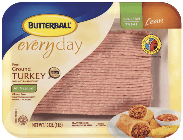 $0.50 for Butterball® Everyday Ground Turkey (expiring on Thursday, 08/02/2018). Offer available at multiple stores.