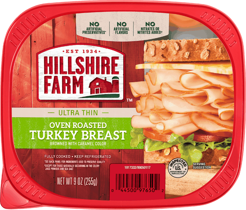 $0.50 for Hillshire Farm® Lunch Meat (expiring on Tuesday, 09/03/2019). Offer available at Military Commissary.