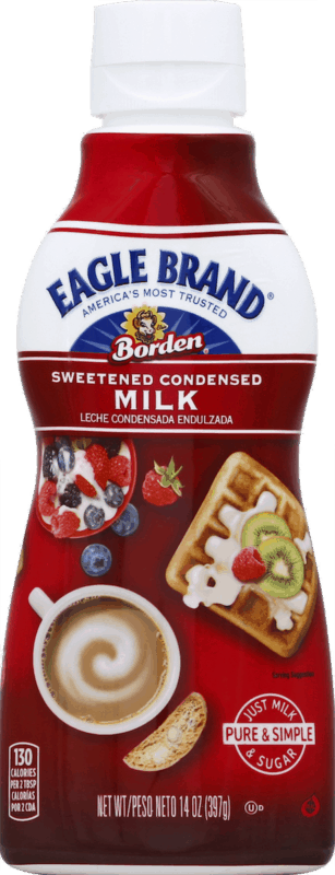 $0.50 for Eagle Brand® Squeeze Sweetened Condensed Milk (expiring on Monday, 12/02/2019). Offer available at Walmart.