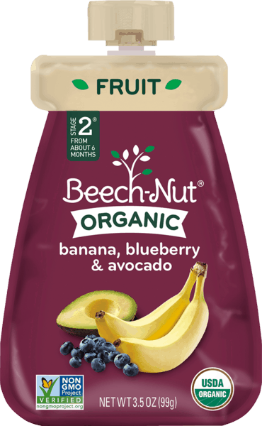 $2.00 for Beech-Nut® Organic Pouches (expiring on Sunday, 09/02/2018). Offer available at multiple stores.
