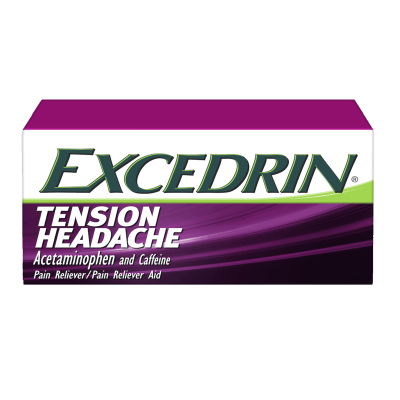 $1.25 for Excedrin Tension Headache (expiring on Thursday, 07/02/2020). Offer available at Walmart.