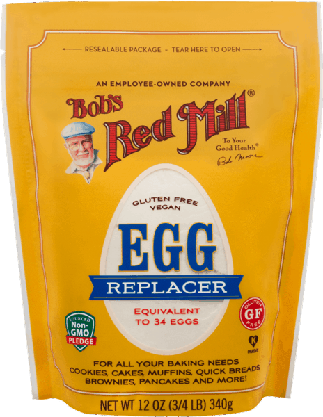 $1.00 for Bob's Red Mill® Gluten Free Egg Replacer (expiring on Wednesday, 01/17/2018). Offer available at multiple stores.