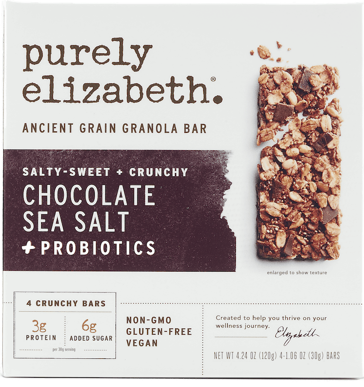 $1.00 for Purely Elizabeth Ancient Grain Granola Bars (expiring on Monday, 09/07/2020). Offer available at Walmart, Walmart Grocery.