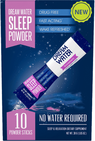 $0.50 for Dream Water Sleep Powder (expiring on Friday, 11/02/2018). Offer available at Safeway, Giant Eagle, Meijer, Reasor's, Albertsons.