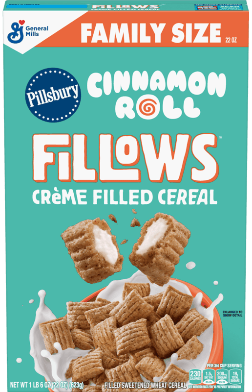$1.00 for Pillsbury™ Cinnamon Roll Fillows™ Cereal (expiring on Sunday, 02/02/2020). Offer available at Walmart.