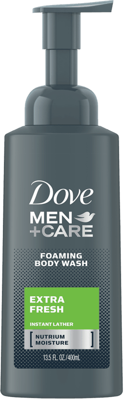 $1.50 for Dove Men+Care Foaming Body Wash (expiring on Saturday, 11/02/2019). Offer available at Target, Walmart.