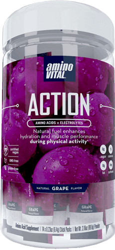 $5.00 for Amino Vital® ACTION™ Drink Mix. Offer available at Target.
