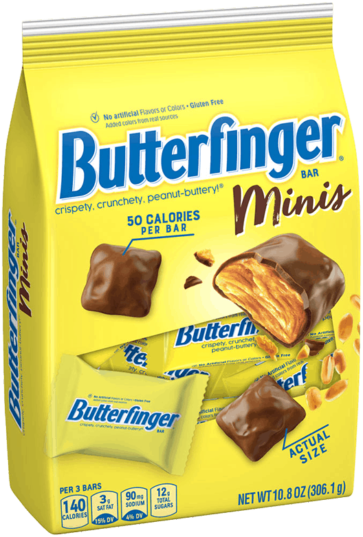 $1.00 for Butterfinger Minis, 10.8oz (expiring on Sunday, 08/02/2020). Offer available at Safeway, Walmart, Albertsons.