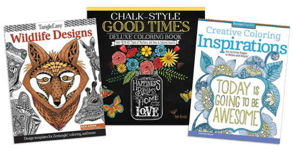 $2.00 for Design Original Title Coloring Books - 2 pack. Offer available at JOANN .
