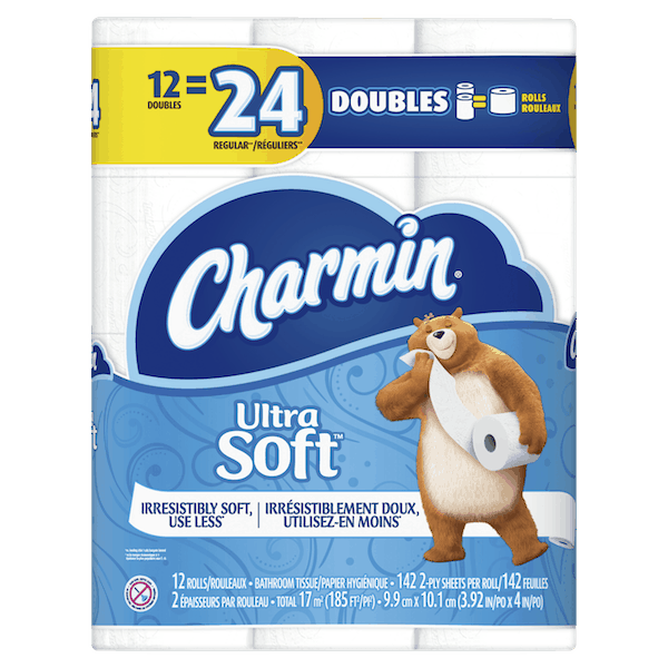 $0.50 for Charmin® Toilet Paper (expiring on Wednesday, 06/20/2018). Offer available at Publix.