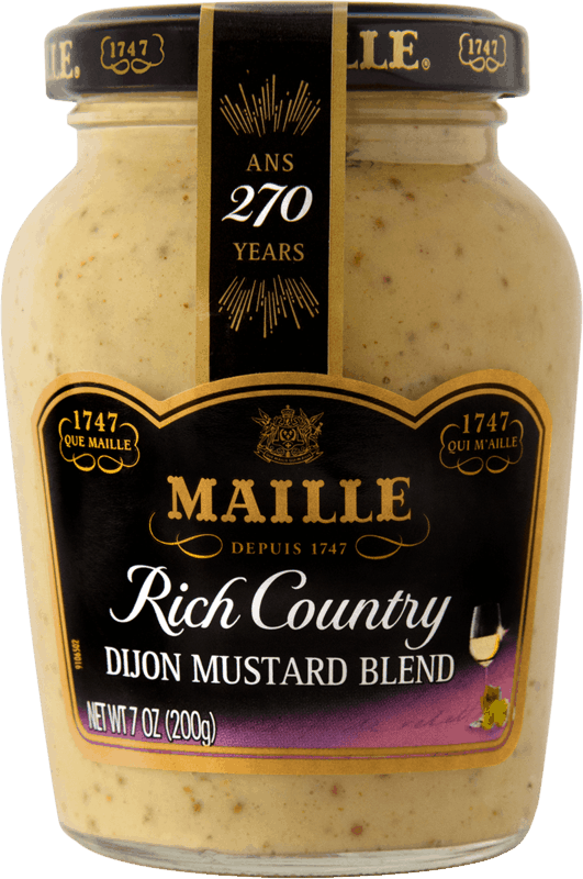 $0.75 for Maille Rich Country Mustard (expiring on Wednesday, 05/13/2020). Offer available at multiple stores.
