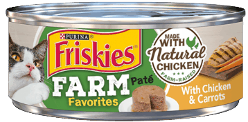 $0.50 for Purina Friskies Favorites (expiring on Sunday, 11/01/2020). Offer available at multiple stores.