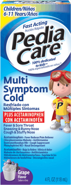 $1.50 for PediaCare™ Multi Symptom Cold (expiring on Sunday, 09/02/2018). Offer available at Walgreens.