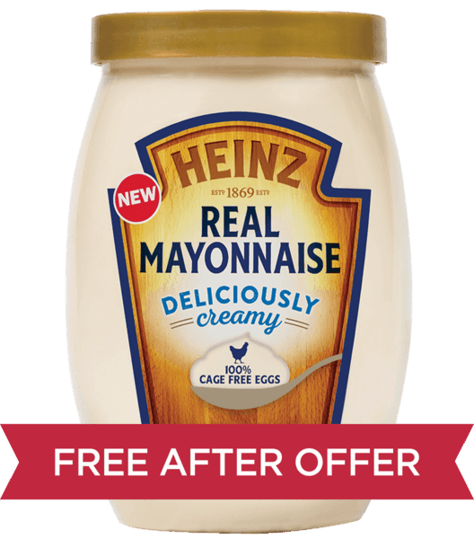 .Heinz Real Mayonnaise 19 oz. squeeze or 30 oz. jar