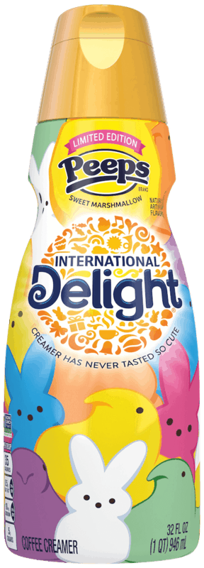 $1.00 for International Delight® Coffee Creamer (expiring on Wednesday, 10/02/2019). Offer available at Walmart.