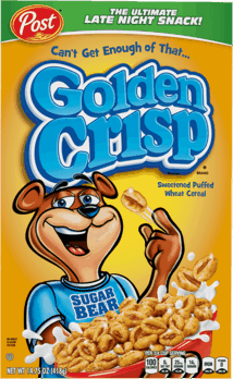 $0.50 for Golden Crisp® Cereal. Offer available at WinCo Foods.