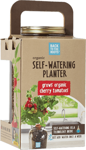 $10.00 for Back to the Roots® Self-Watering Planter (expiring on Friday, 07/28/2017). Offer available at H-E-B, Whole Foods Market®, Home Depot, Sprouts Farmers Market.