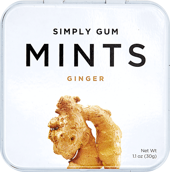 $0.50 for Simply Gum Natural Mints (expiring on Sunday, 09/02/2018). Offer available at multiple stores.
