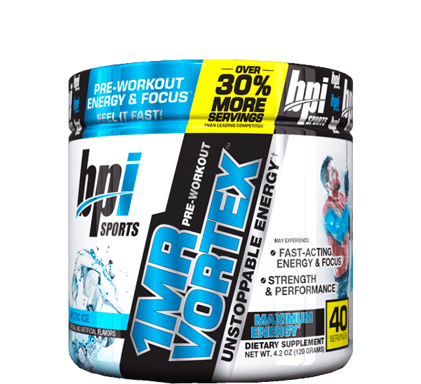 $5.00 for BPI Sports 1.M.R Vortex™ Pre-Workout Powder (expiring on Tuesday, 06/19/2018). Offer available at Walmart.