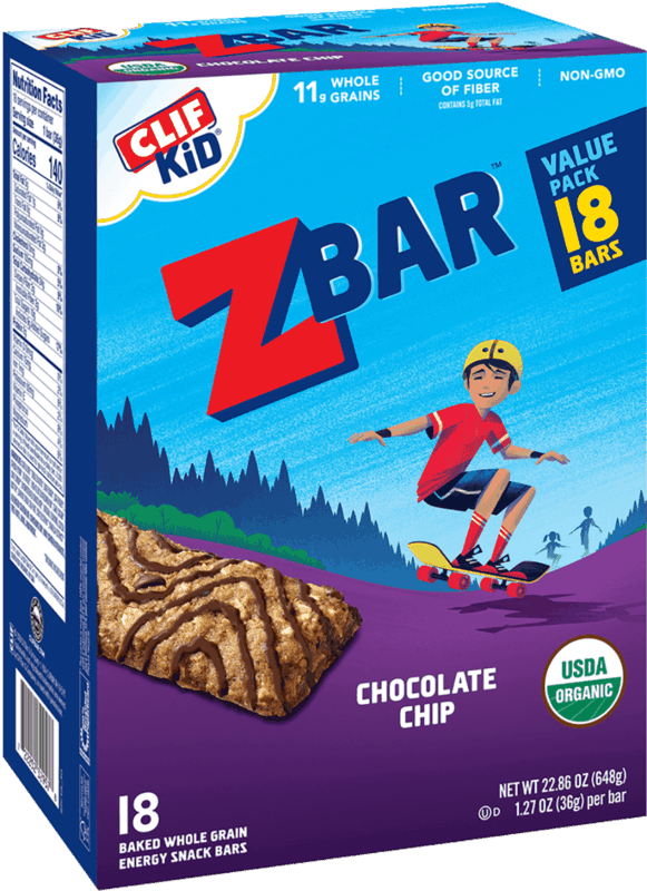 $1.00 for CLIF KID Zbar or Zbar Protein (expiring on Monday, 01/31/2022). Offer available at multiple stores.