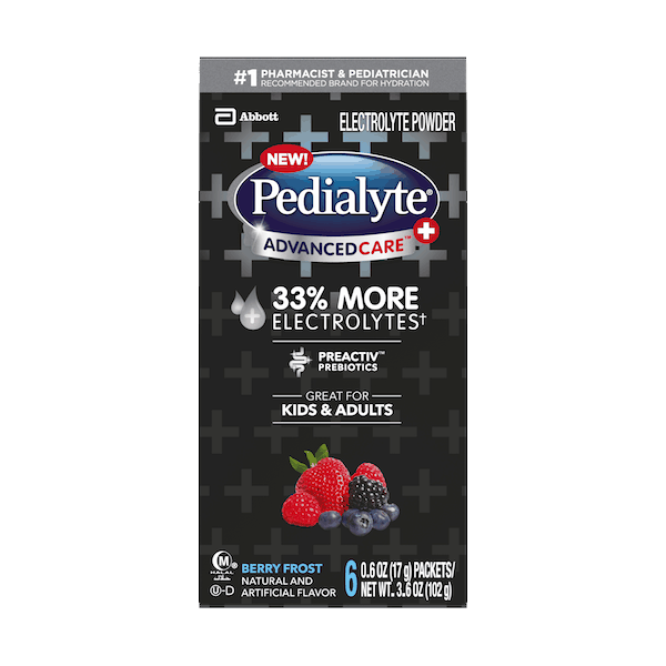 $1.00 for Pedialyte® Electrolyte Powder (expiring on Sunday, 02/02/2020). Offer available at Walmart.