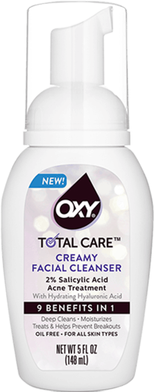 $1.00 for OXY Total Care Anti-Acne Creamy Facial Cleanser (expiring on Sunday, 03/01/2020). Offer available at multiple stores.
