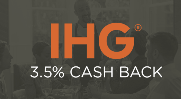 $0.00 for InterContinental Hotels Group (expiring on Tuesday, 12/31/2019). Offer available at InterContinental Hotels Group.