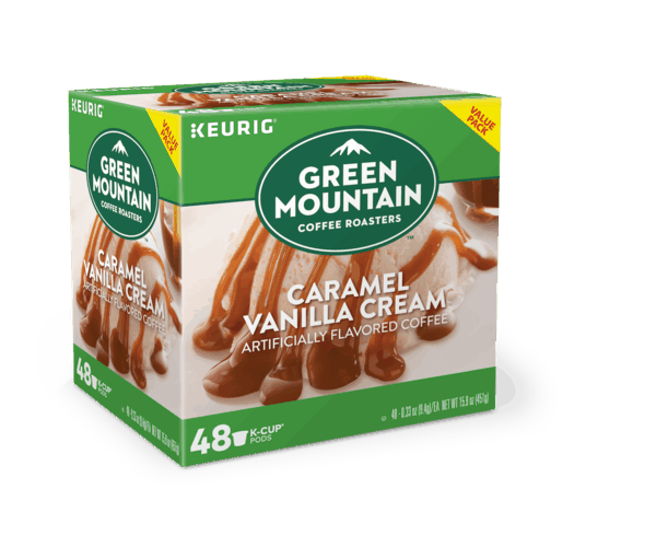 $2.00 for Green Mountain Coffee Roasters® Caramel Vanilla Cream Coffee K-Cup® pods (expiring on Sunday, 09/30/2018). Offer available at Walmart.