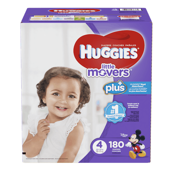 $3.50 for Huggies® Plus Diapers (expiring on Thursday, 05/24/2018). Offer available at Costco.