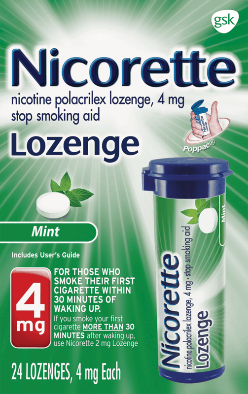 $5.00 for Nicorette Lozenge. Offer available at Walmart.