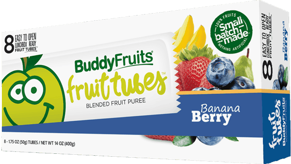 $0.40 for Buddy Fruits® Fruit Tubes (expiring on Wednesday, 05/02/2018). Offer available at multiple stores.