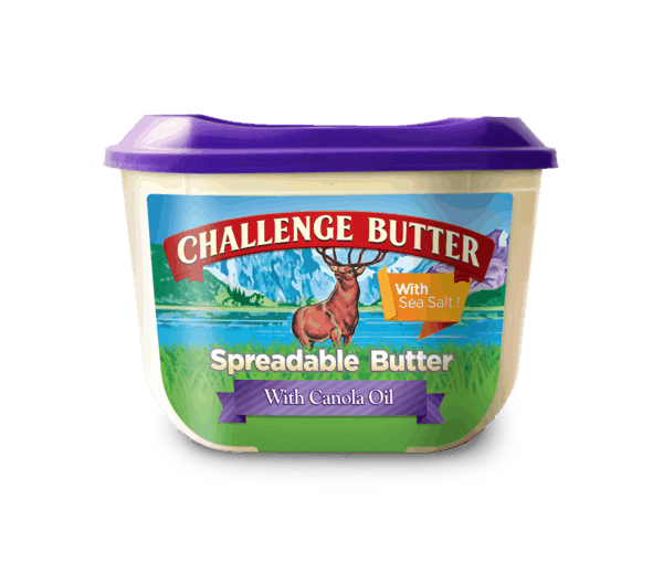 $0.25 for Challenge® Spreadable Butter (expiring on Sunday, 09/30/2018). Offer available at Walmart.