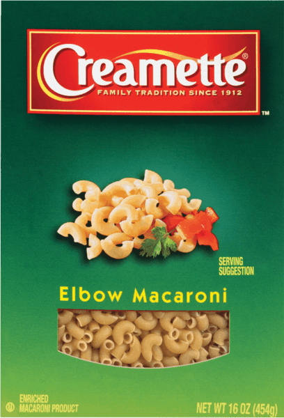$0.50 for Creamette® Pasta (expiring on Monday, 04/02/2018). Offer available at multiple stores.