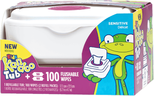 $1.00 for Kandoo Flushable Wipes (expiring on Friday, 04/05/2019). Offer available at multiple stores.