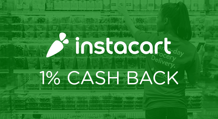 $0.00 for Instacart (expiring on Wednesday, 04/01/2020). Offer available at Instacart.