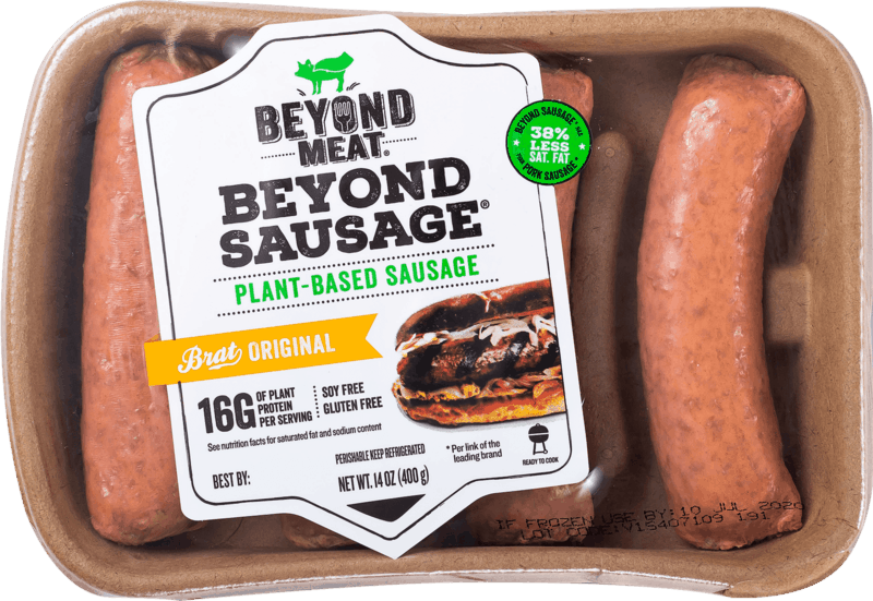 $1.00 for Beyond Sausage from Beyond Meat (expiring on Tuesday, 06/02/2020). Offer available at multiple stores.
