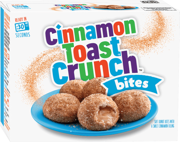 $2.00 for Cinnamon Toast Crunch™ Bites (expiring on Saturday, 09/01/2018). Offer available at WinCo Foods.