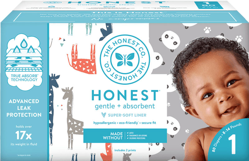 $3.00 for Honest® Diapers (expiring on Sunday, 02/02/2020). Offer available at multiple stores.