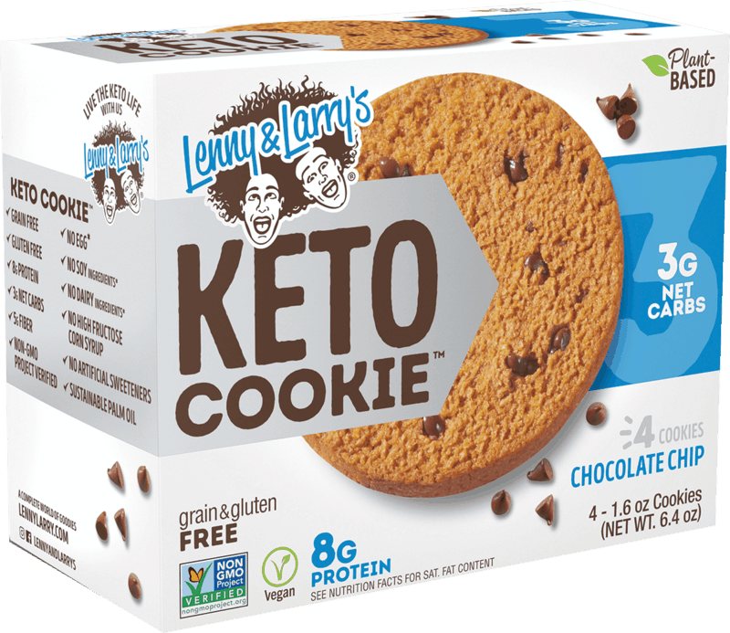 $1.00 for Lenny & Larry's Keto Cookie™ Multi-Pack (expiring on Tuesday, 06/02/2020). Offer available at Walmart, Vitamin Shoppe.