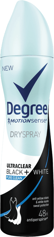 $1.25 for Degree Women Dry Spray. Offer available at Walmart, Walmart Pickup & Delivery.