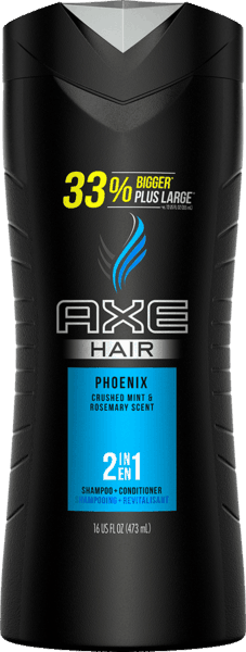 $2.00 for AXE  2-in-1 Shampoo + Conditioner. Offer available at multiple stores.