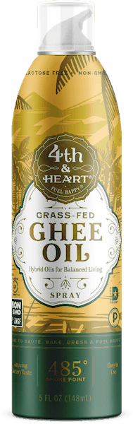 $2.00 for 4th & Heart® Grass Fed Ghee Oil Spray (expiring on Monday, 09/02/2019). Offer available at multiple stores.